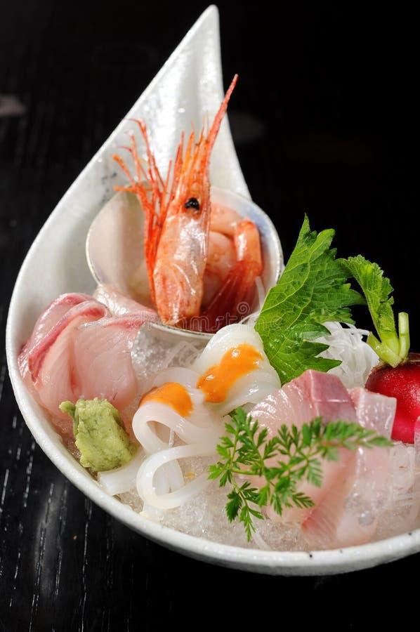 Download Sashimi stock photo. Image of plate, fresh, healthy, food - 12986104