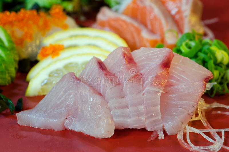 Download Sashimi stock image. Image of lunch, asian, culture, lemon - 23496925