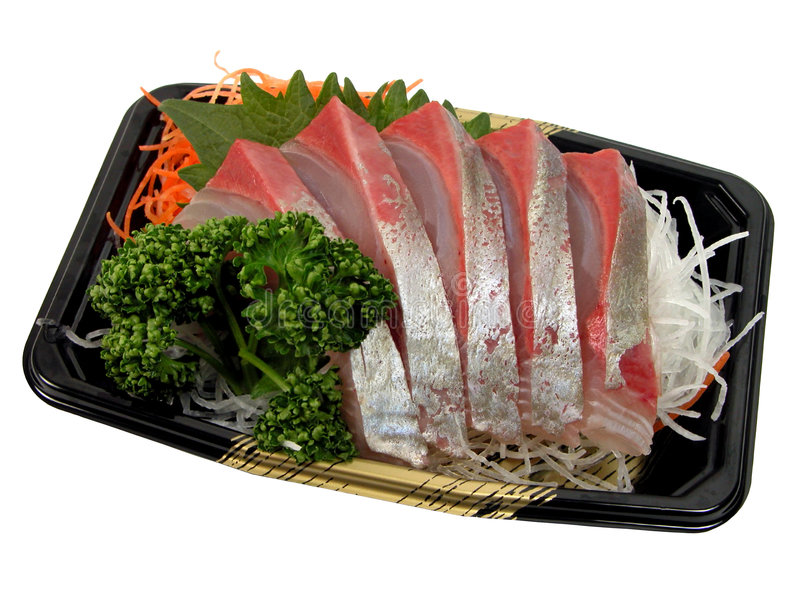 Sashimi image libre de droits