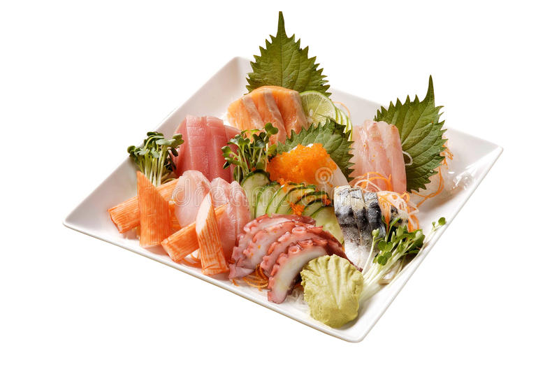 Sashimi immagini stock libere da diritti