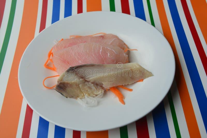 Sashimi, comida japonesa imágenes de archivo libres de regalías