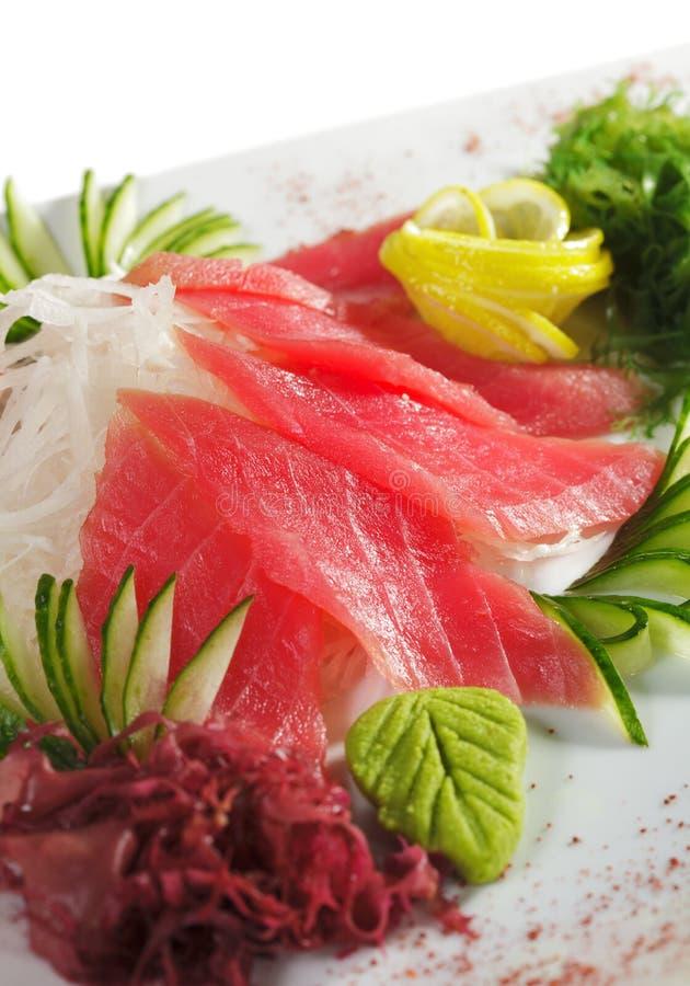 Sashimi del atún fotografía de archivo