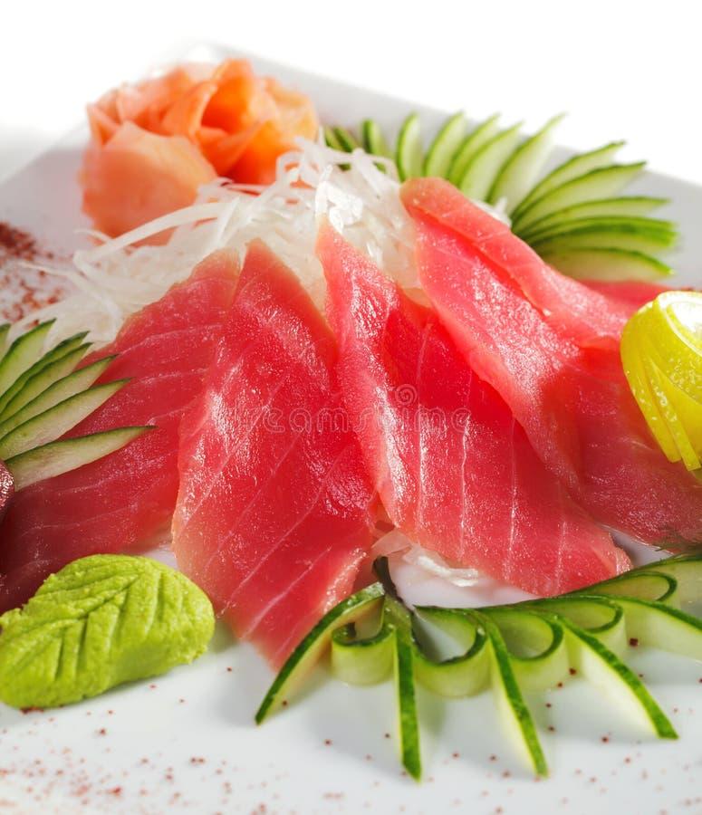 Sashimi do atum imagem de stock