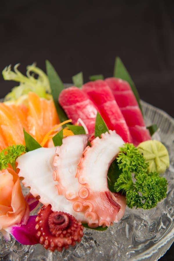 Sashimi giapponese degli alimenti immagine stock