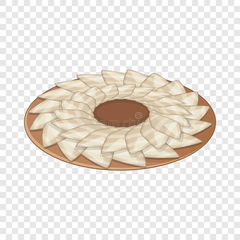 Sashimi icon, cartoon style. Sashimi icon. Cartoon illustration of sashimi vector icon for web vector illustration