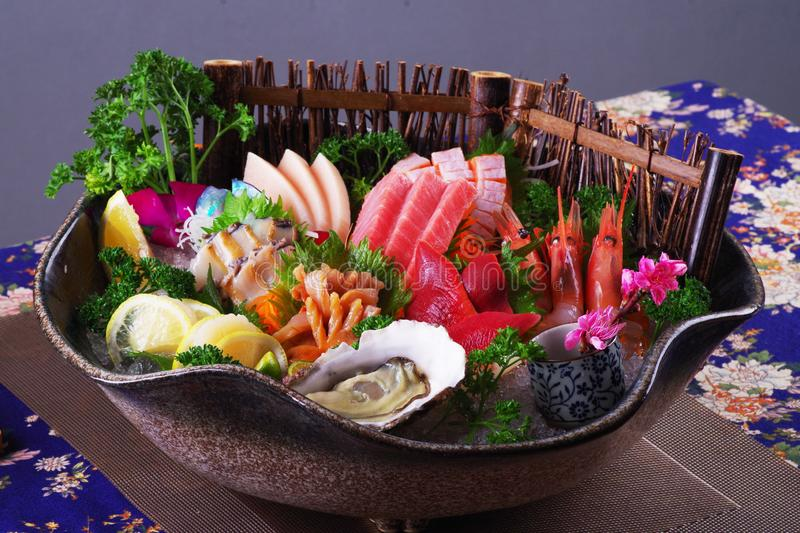Sashimi Platter royalty free stock images