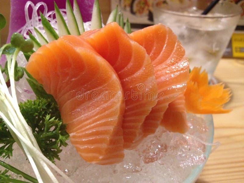 sasimi de color salmón imagen de archivo libre de regalías