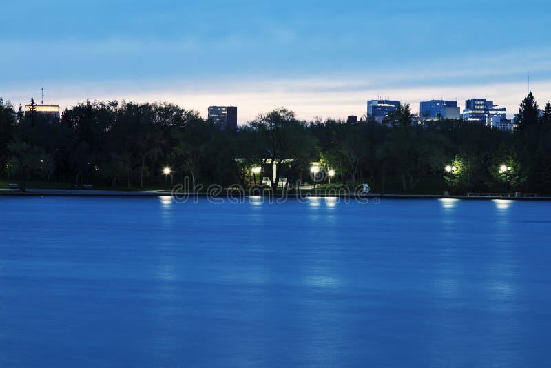 Saskatchewan lagstiftnings- byggnad royaltyfria foton