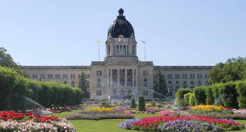 Saskatchewan parlament, Regina zdjęcie stock