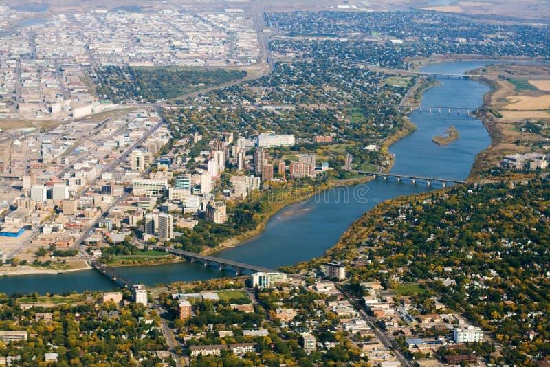 Saskatoon fotografia stock