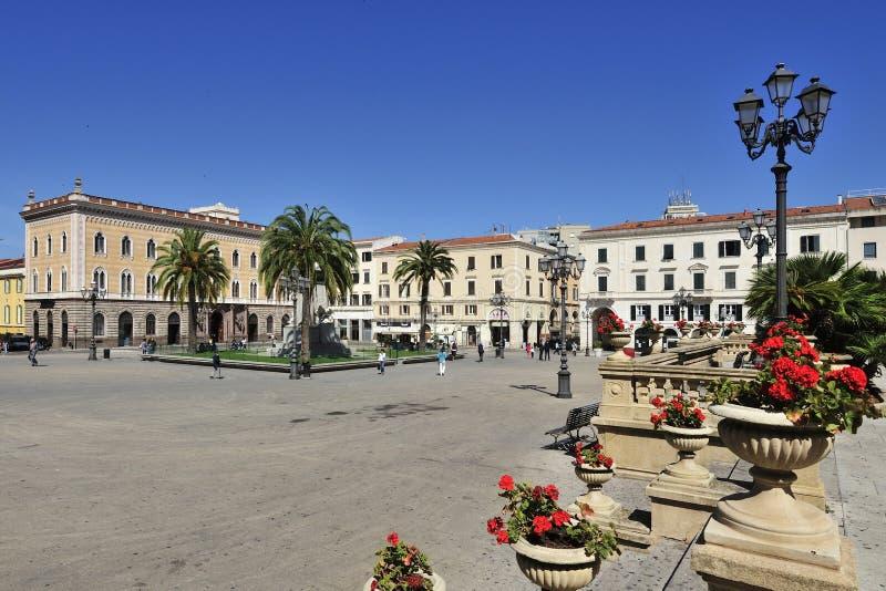 Sassari, Cerdeña, Italia fotografía de archivo