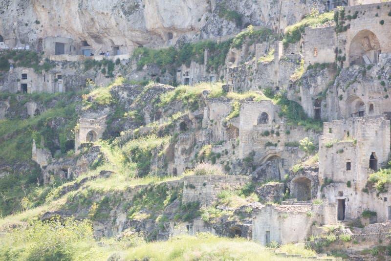 Sassi à Matera photos stock