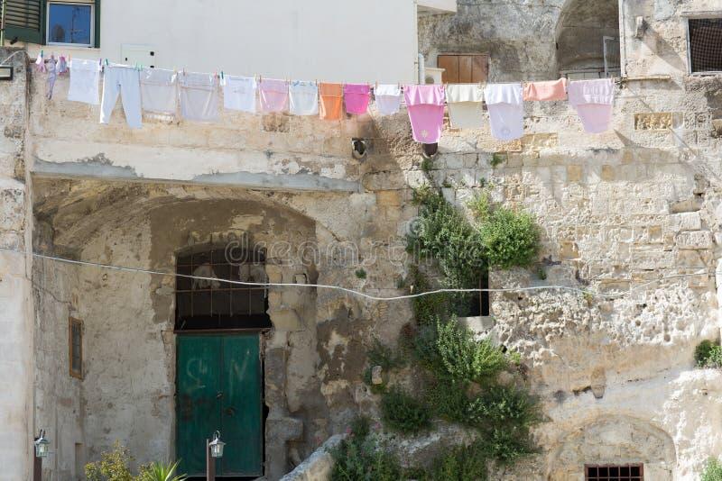 Sassi à Matera photos libres de droits