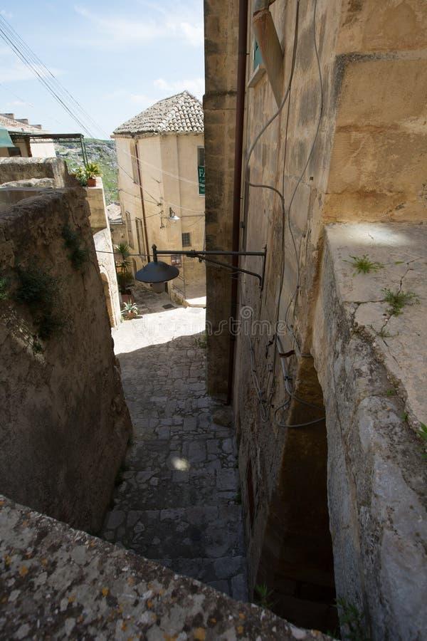 Sassi à Matera image stock