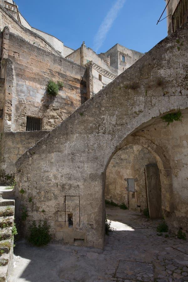 Sassi à Matera image libre de droits