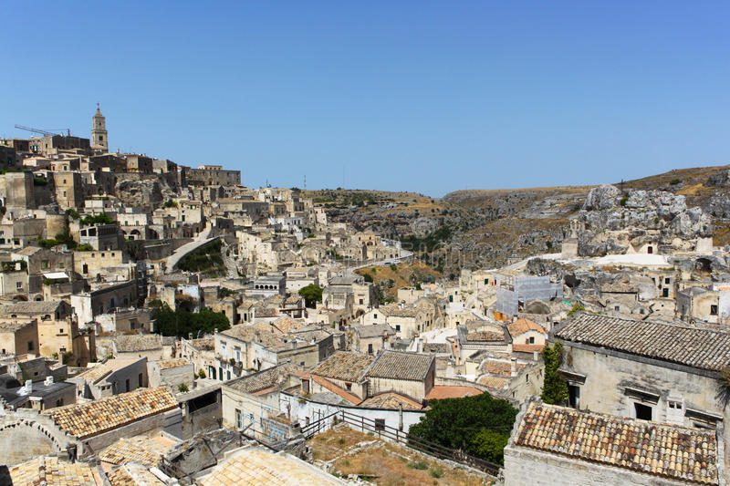 Sassi di Matera - Italy royalty free stock images