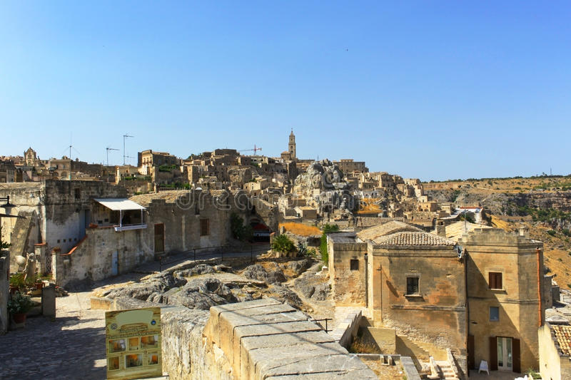Sassi di Matera - Italy stock photography