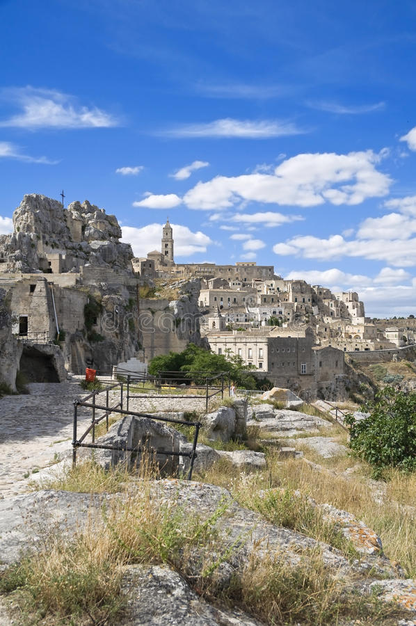 Download Sassi Of Matera. Basilicata. Stock Image - Image: 15366315
