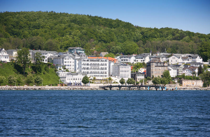 Sassnitz, old part of town stock image