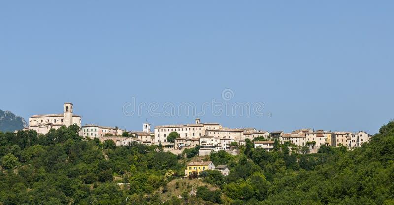 Sassoferrato (gränser, Italien) Fotografering för Bildbyråer