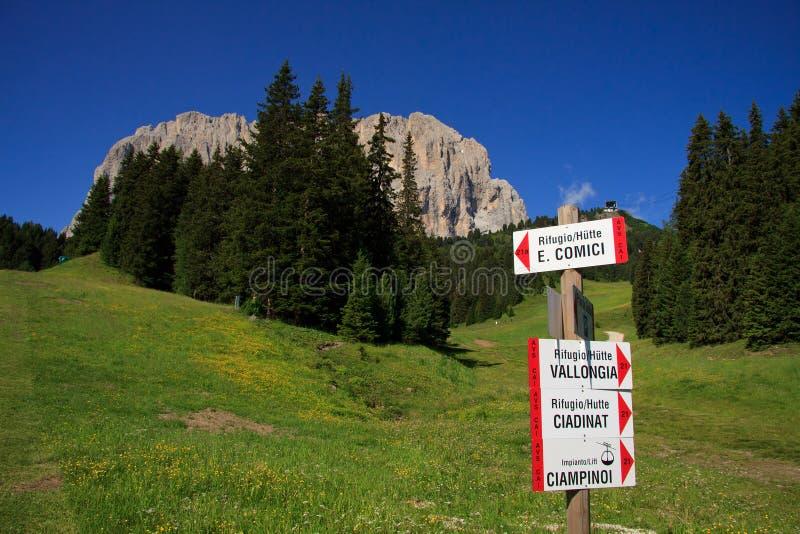 Download Sassolungo - Val Gardena stock photo. Image of towers - 21176070