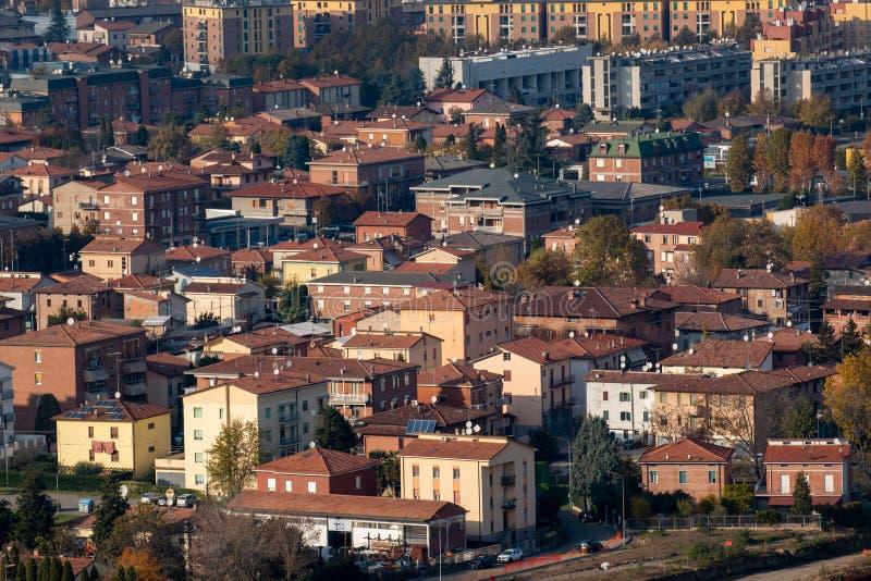 Sassuolo, zona industrial, distrito de cerámica imagen de archivo libre de regalías