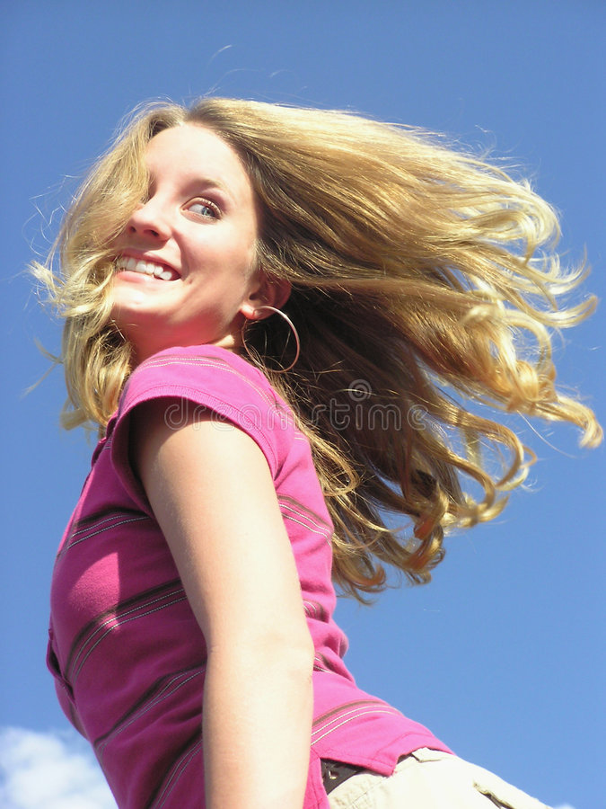 Sassy Hair 02 royalty free stock photo