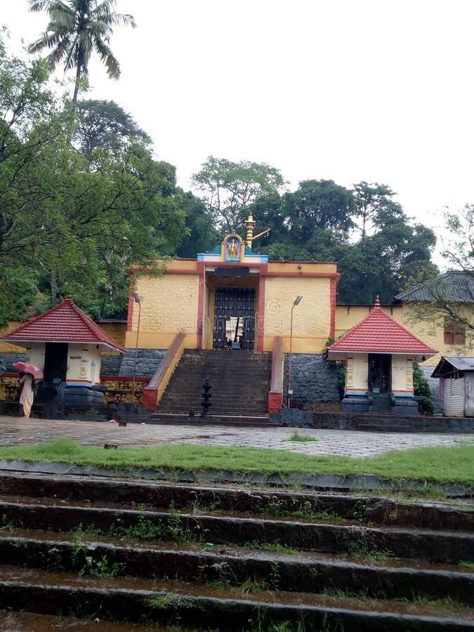 Sastha tempal喀拉拉 免版税库存图片