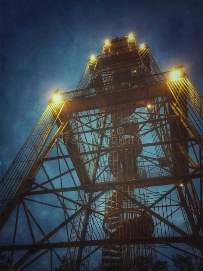 Sasto-Turm lizenzfreies stockbild
