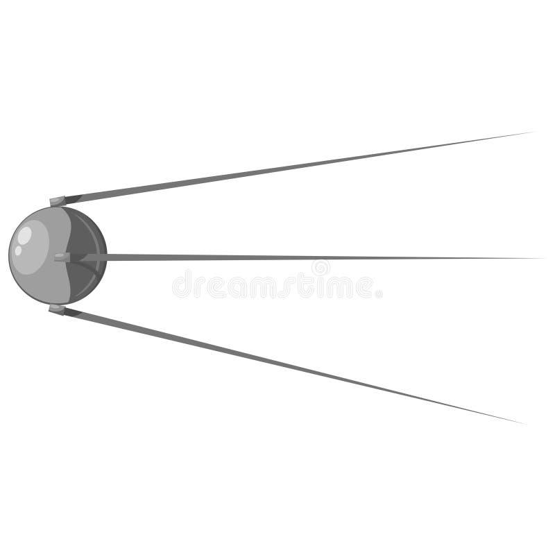 Satélite de la historieta. eps10 ilustración del vector
