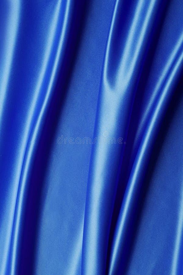 Satén azul fotografía de archivo libre de regalías