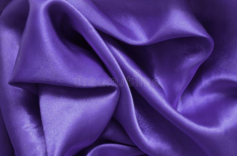 Satén púrpura fotos de archivo libres de regalías