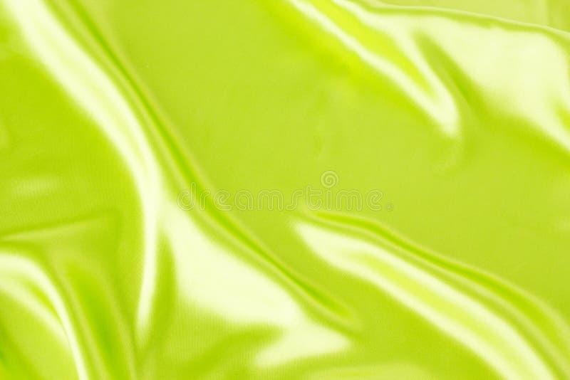 Satén verde imágenes de archivo libres de regalías