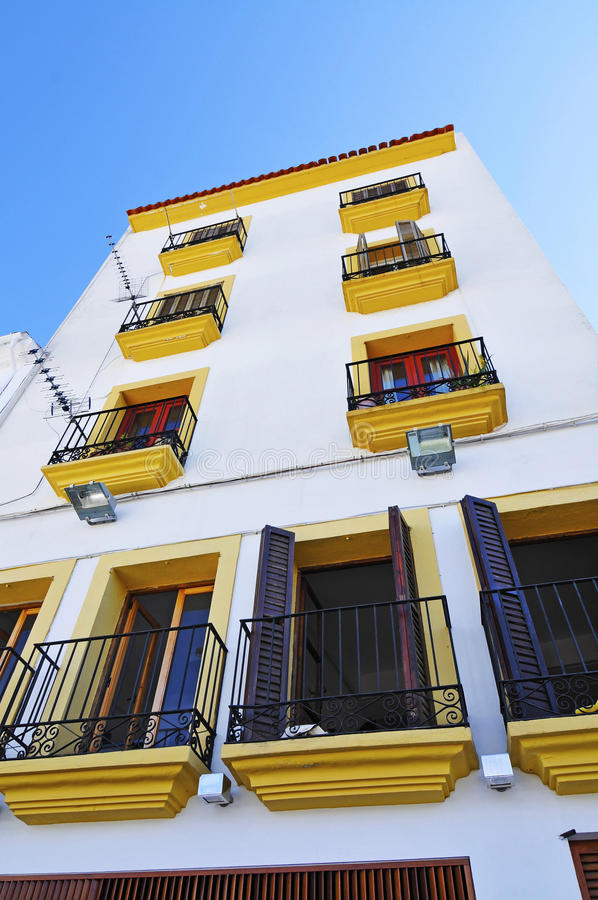 Sat. Penya, Ibiza, Spain foto de stock