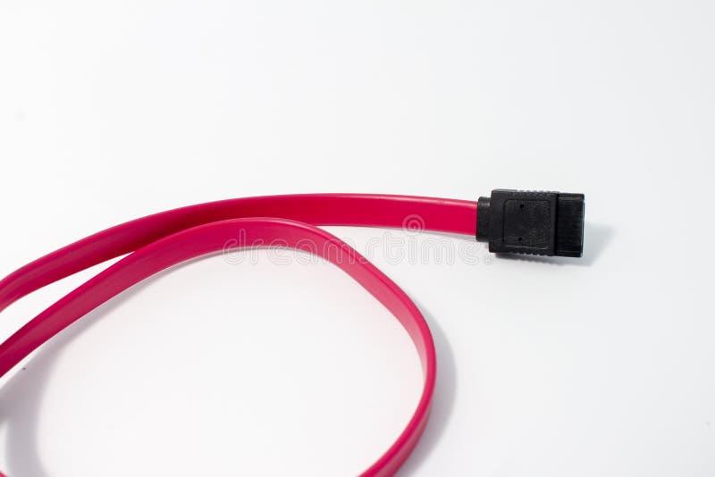sata кабеля стоковая фотография rf