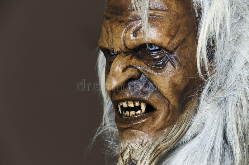 Download Satanic Wooden Mask Of The Companion St. Nicholas Stock Photo - Image: 26962812