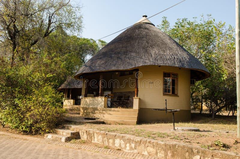 Satara Spoczynkowego obozu zakwaterowanie Kruger park, Po?udniowa Afryka fotografia royalty free