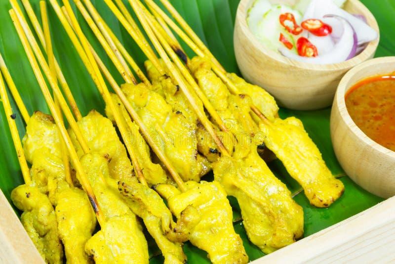 Download Satay的猪肉 库存图片. 图片 包括有 叶子, 烹调, 调味汁, 苹果酱, 花生, 聚会所, 理发店 - 59103699