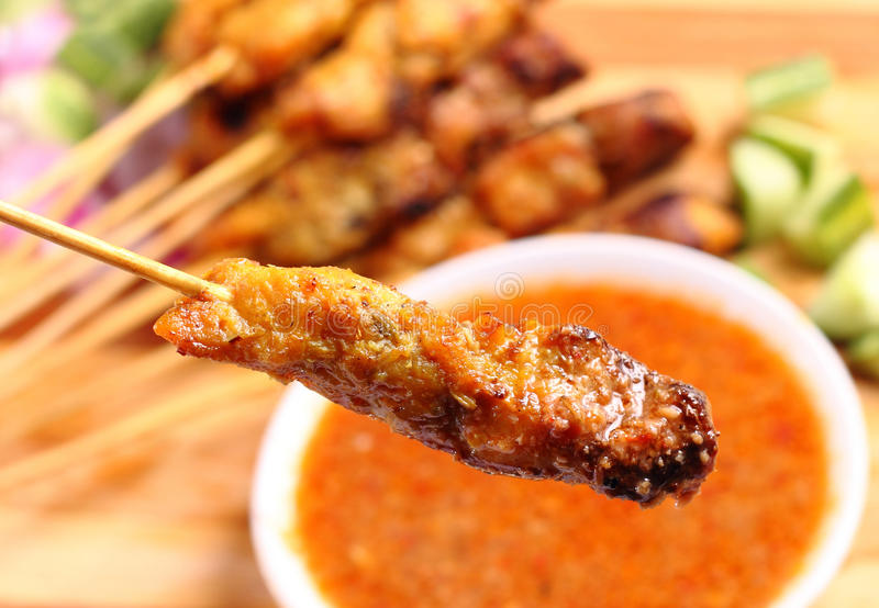 Satay images stock