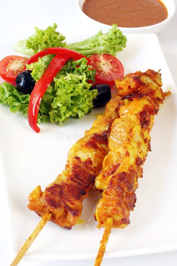 Free Satay Chicken Stock Photos - 7090503