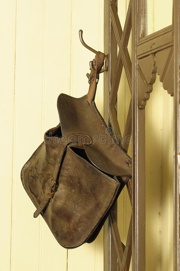 Download Satchel stock image. Image of leather, stained, carry - 16691221