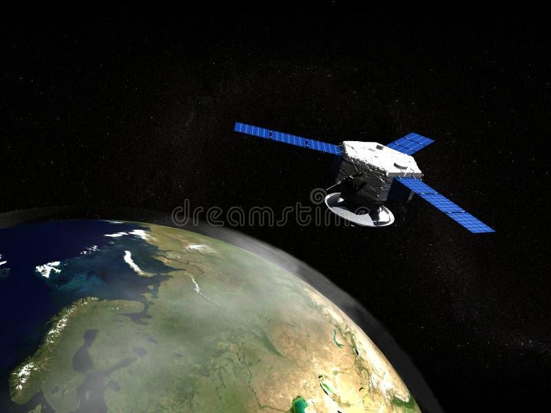satelita royalty ilustracja