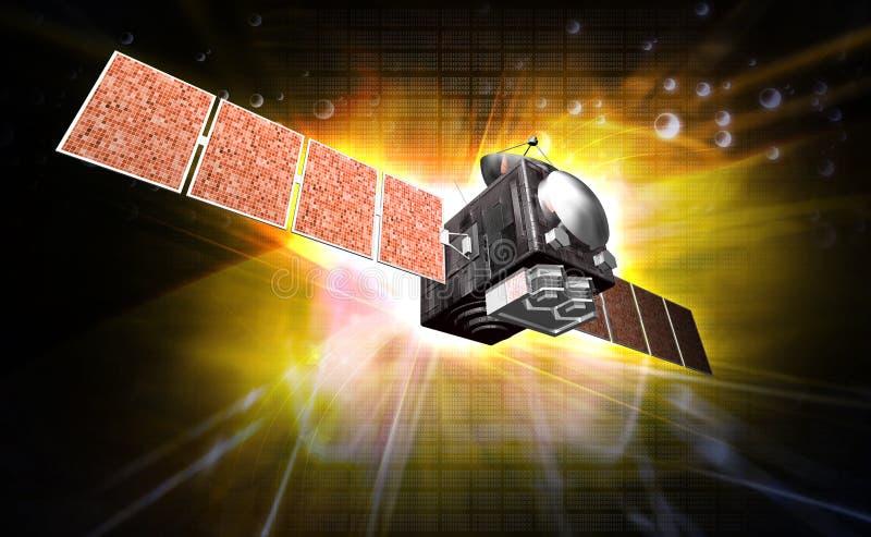 Satelite vector illustration
