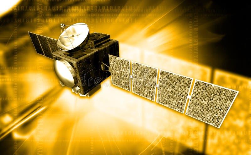 Satelite stock illustration