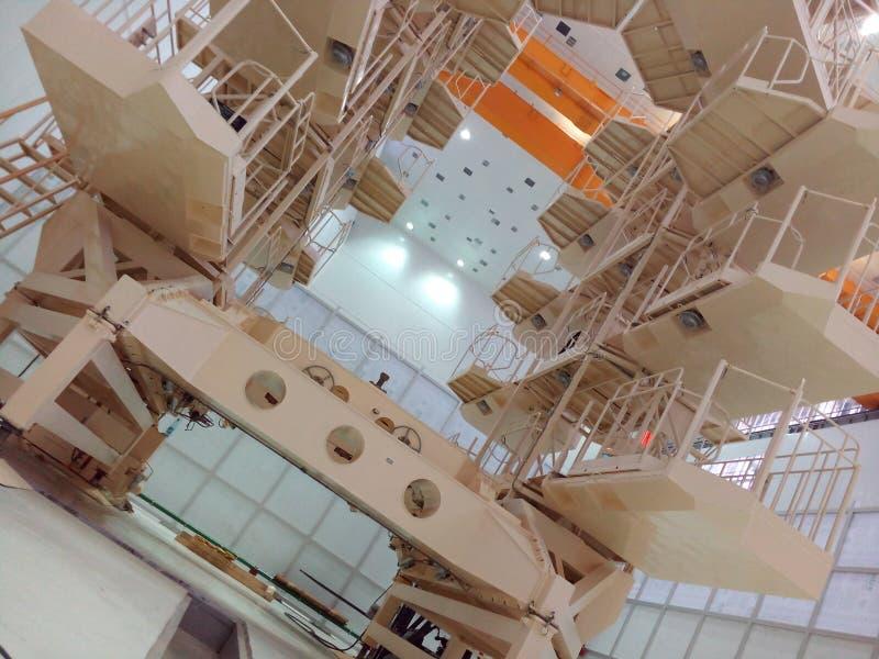 Satelity baza obrazy stock