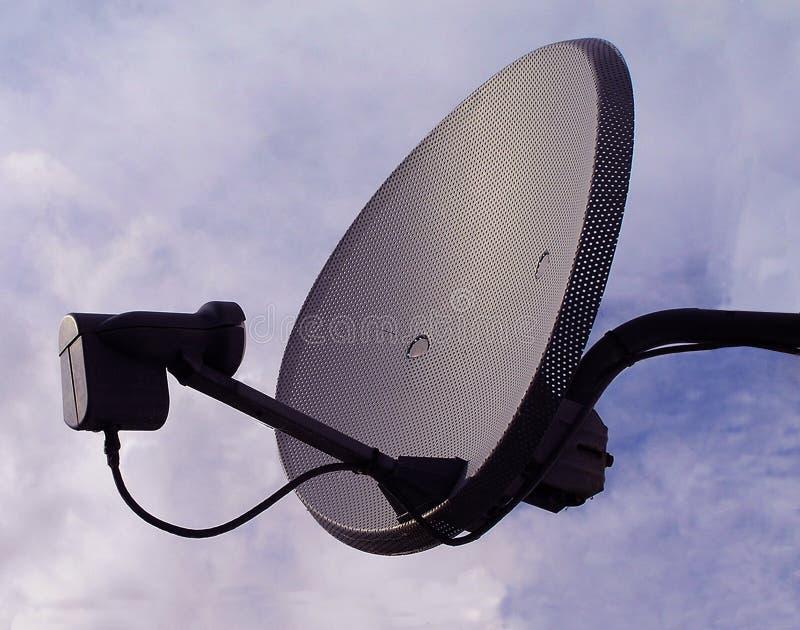Satelliet Schotel stock foto