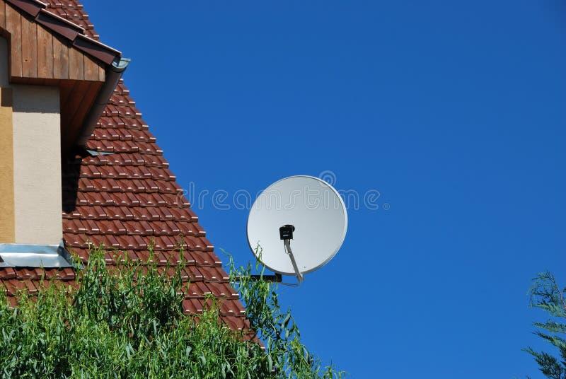 Satellietantenne stock foto's