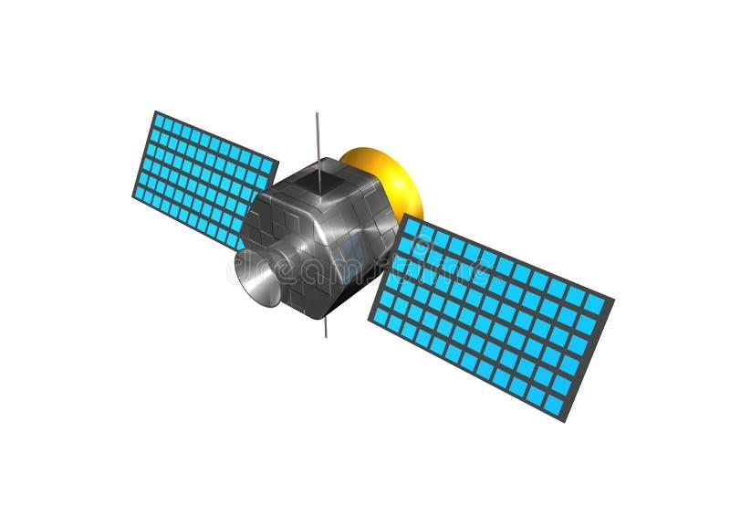 satellit royaltyfri illustrationer