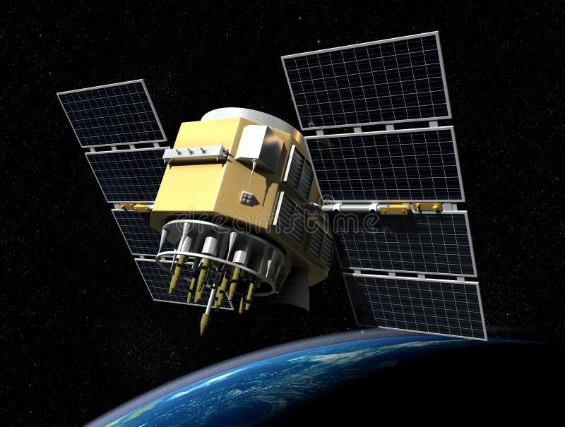 Satellit- royaltyfri illustrationer