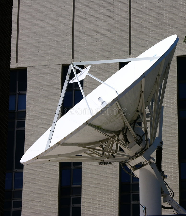 satellit royaltyfri bild
